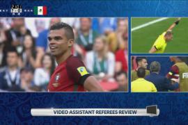 联合会杯视频裁判是好是坏 葡萄牙佩佩成新?#38469;?#21382;史背景板