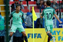 2017联合会杯C罗打进首球 连续八届大赛进球成纪录粉碎机