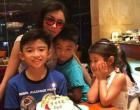 张柏芝让俩儿子录制视频祝福锋菲 谢霆锋为何缺席儿子生日